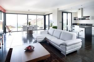 Fenêtre aluminium moderne sur mesure - réalisations devis gratuit