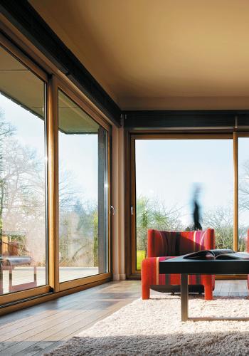 Fenêtre bois aluminium moderne sur mesure devis gratuit
