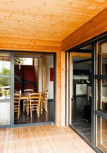 Découvrir les réalisations fenêtre bois aluminium - Imperium-Ouvertures
