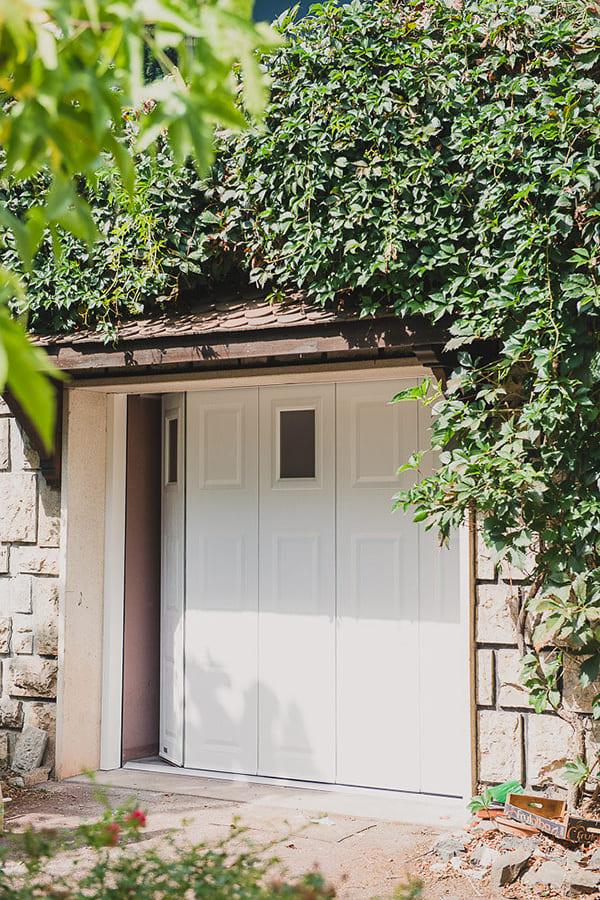 la porte de garage sectionnelle latérale votre garage est situé en