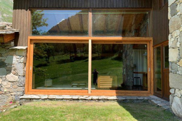 Fenêtres coulissantes aluminium - Val d'Isère (73)