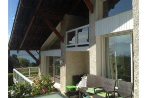 Fenêtre alu blanc Veyrier-du-lac