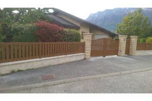 Portail battant clôture portillon Aiton