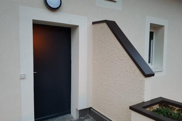 Porte entrée Petit Bornand
