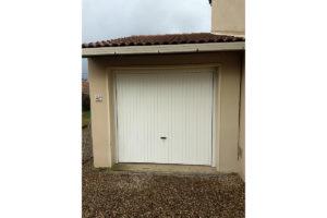 Porte de garage basculante blanc