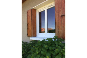 Fenêtres pvc blanc chambery