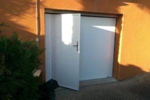 Porte garage Neyron