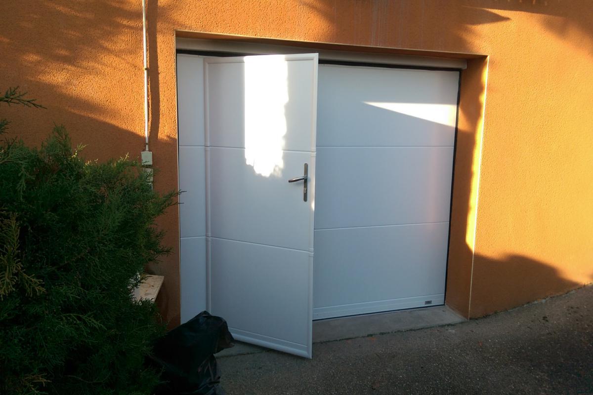 Porte garage - Neyron (01)